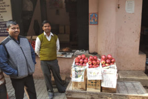 An Apple's Passage to India